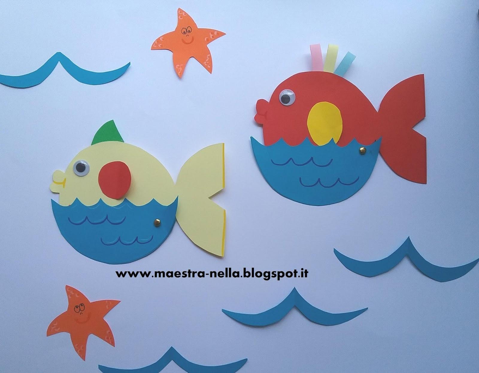 Maestra nella pesciolini di benvenuto 2 for Maestra valentina accoglienza