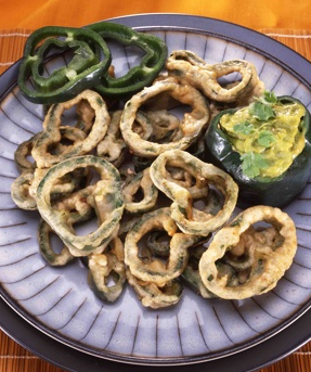 Poblano Chili Rings