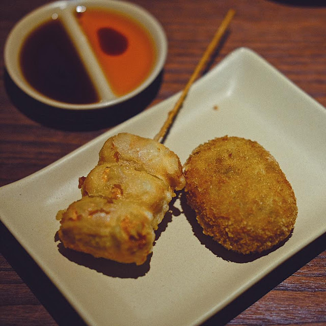Chikuwa Cheese and Beef Croquette
