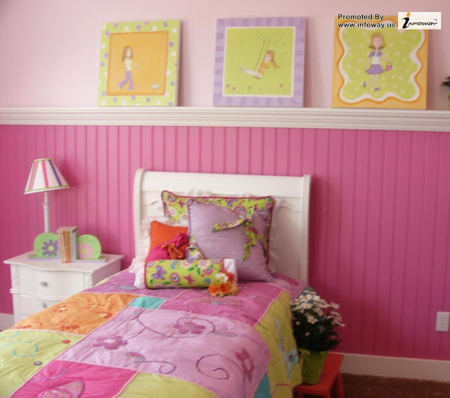 bedroom wall ideas for teenage girl