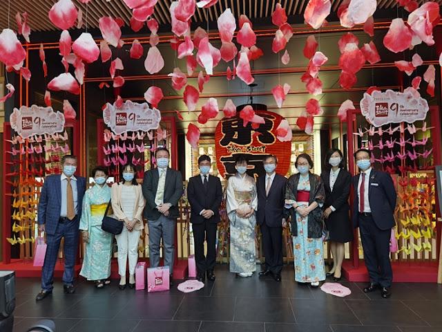 okyo Street 9th Anniversary, Tokyo Street, Pavilion KL, Japan Expo Malaysia, Japanese community in Malaysia, His Excellency Oka Hiroshi, Ambassador of Japan to Malaysia, Shopping Mall, Lifestyle