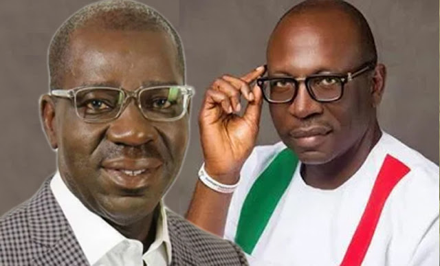 Edo: PDP reacts to claims of Obaseki destroying APC's Ize-Iyamu's billboards