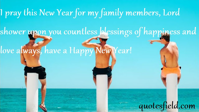 Happy New Year Quotes For Family And Friends