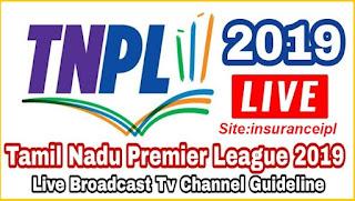 TNPL Live Stream Channels Guidelines - Insuranceipl
