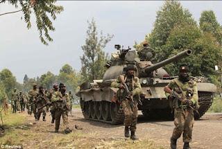 Momen Mendebarkan ketika Prajurit TNI Lindungi Markas PBB Dari Serangan Tank Prajurit Kongo - Commando