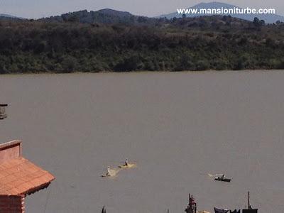 Panorámica del Lago de Pátzcuaro desde Janitzio