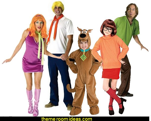 scooby doo costumes  Scooby Doo  - Daphne Costume - Fred Kit Costume - Velma Costume   - Shaggy Costume