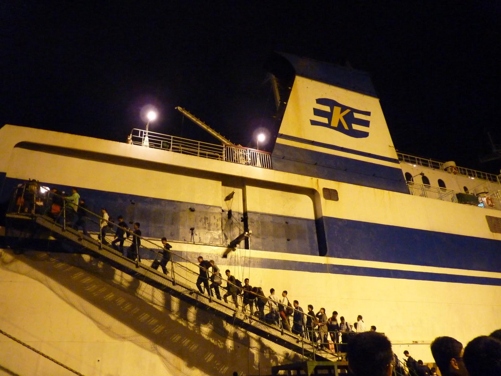 生命影響生命 :): 2011.10.21 從濟州坐夜船到釜山 Overnight ferry from Jeju (제주도)to Busan (부산)
