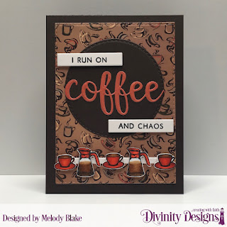 Stamp/Die Duos: Perk Up, Custom Dies: Sentiment Strips, Double Stitched Circles, Double Stitched Rectangles, Paper Collection: Latte Love