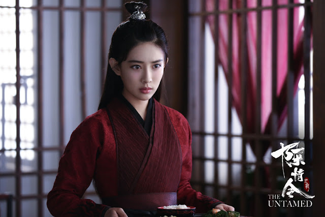 the untamed cast meng ziyi as wen qing