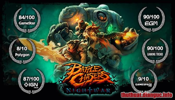 Download Game Battle Chasers: Nightwar Full Crack