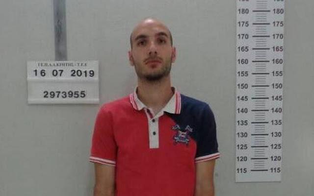 Στις φυλακές Τρίπολης οδηγήθηκε ο 27χρονος δολοφόνος της Σούζαν Ίτον