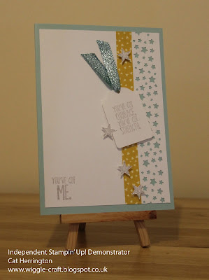 Stampin' Up! Something to say - Fusion Challenge