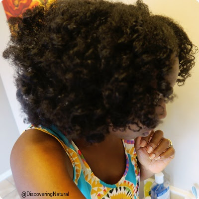 Quick and Easy Roller Set on Natural Hair feat. Modiê Haircare