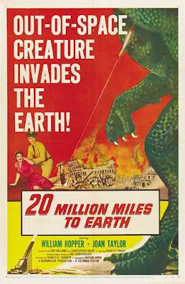 Póster película El monstruo de otro planeta - 1957