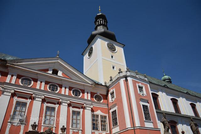 Klasztor w Broumovie to atrakcja turystyczna pogranicza Kłodzkiego