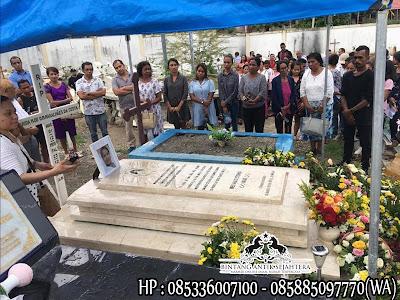 Model Makam Kristen Terbaru, Model Kuburan Kristen, Contoh Kuburan Kristen Marmer