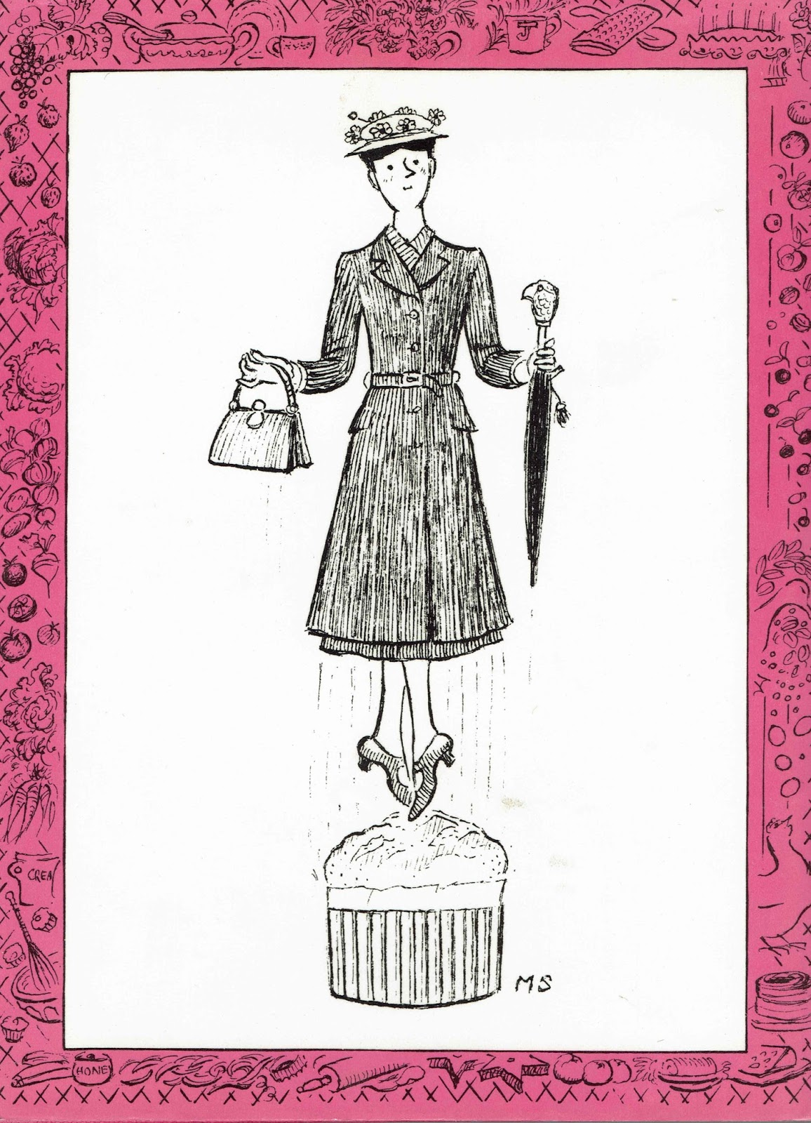 Mary Poppins In The Kitchen: A Cookery Book With A Story, P. L. Travers And  Maurice Moore Betty (culinary Consultant), Illustrated By Mary Shepard 1975  ...