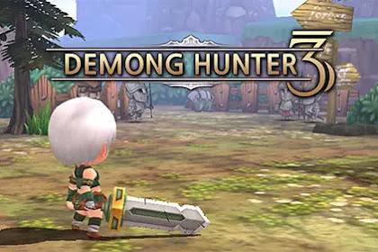 Download Game JRPG Ringan untuk Android Demong Hunter 3