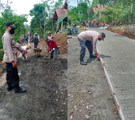 Kapolsek Puspahiang Laksanakan Monitoring Program PISEW