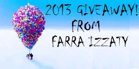 2013 Giveaway from Farra Izzaty!