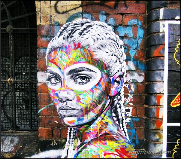Straßenkunst, Graffiti, London, street art