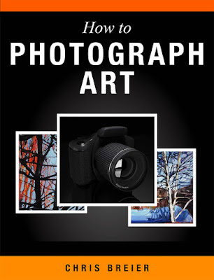Book cover for how to photograph art by Chris Breier