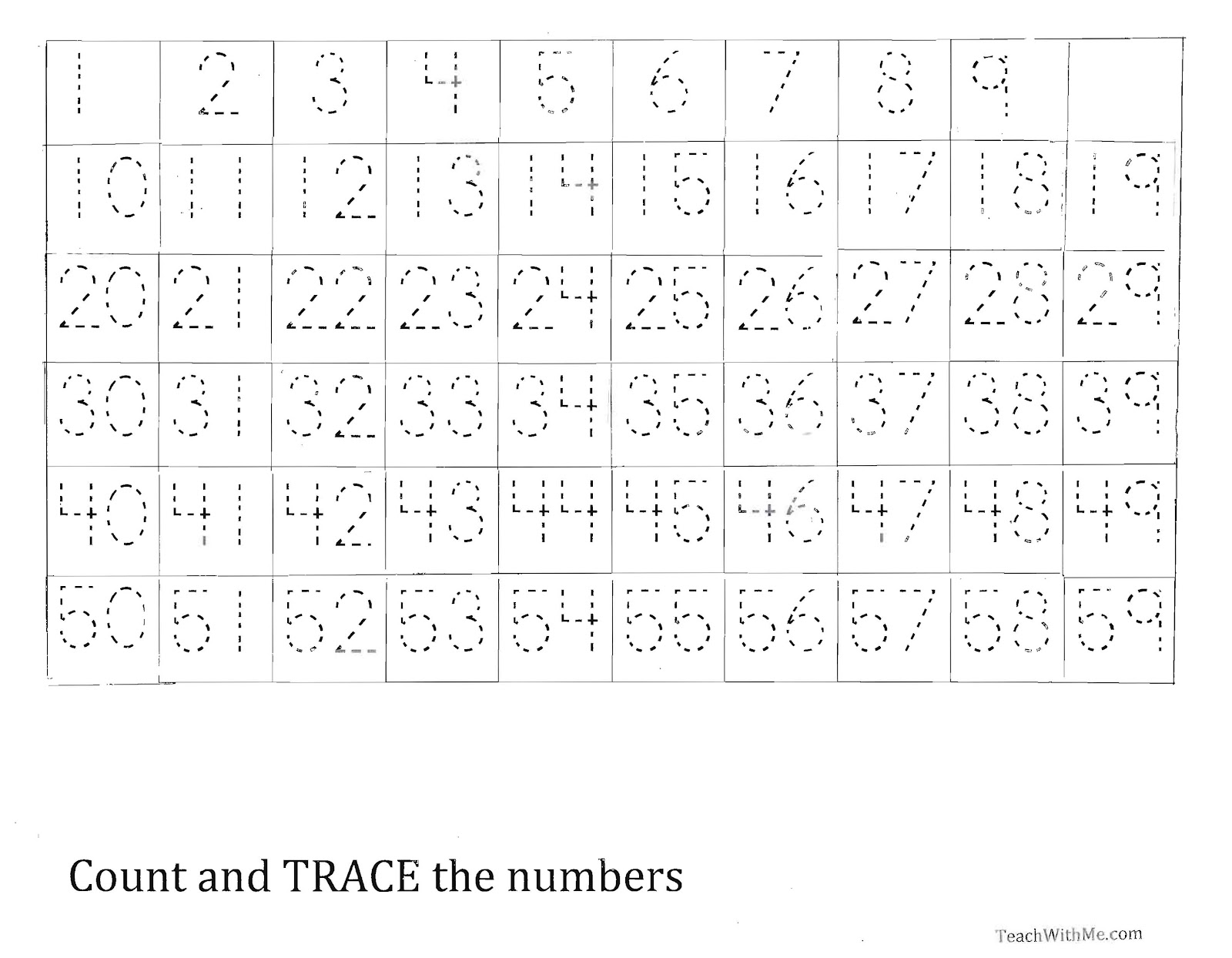 Traceable 100 Charts