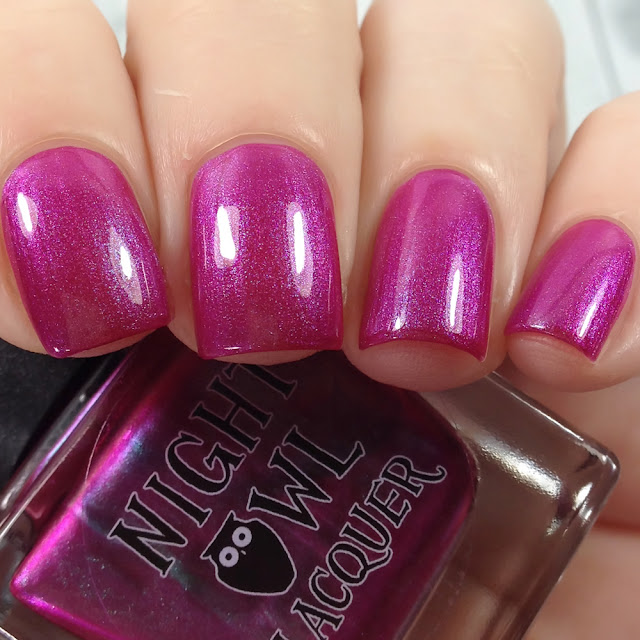 Night Owl Lacquer-Holiday Who-be What-ee?