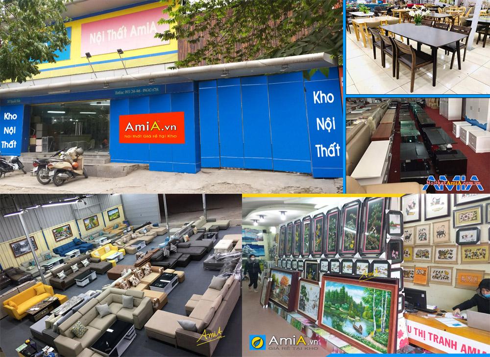 địa chỉ bán nội thất giá rẻ tại kho ở Hà Nội