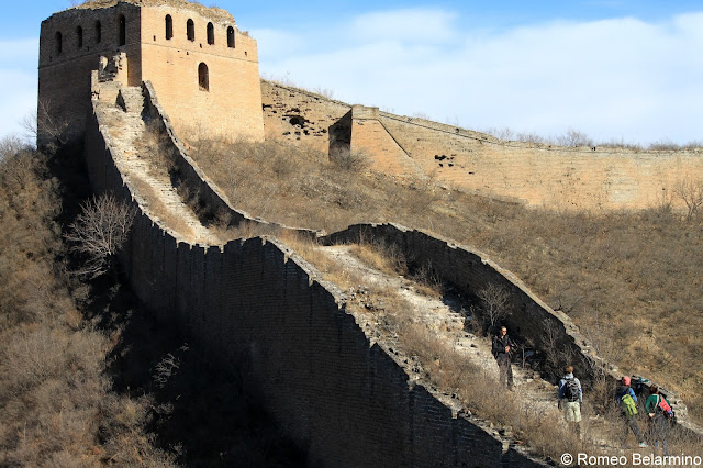 Steep Sections of the Great Wall of China