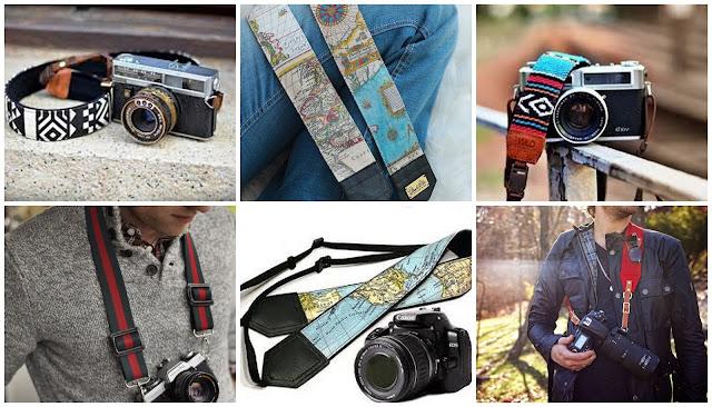 Что подарить путешественнику? идеи подарков для любителя путешествий ремень для фотоаппарата с картой и другими принтами