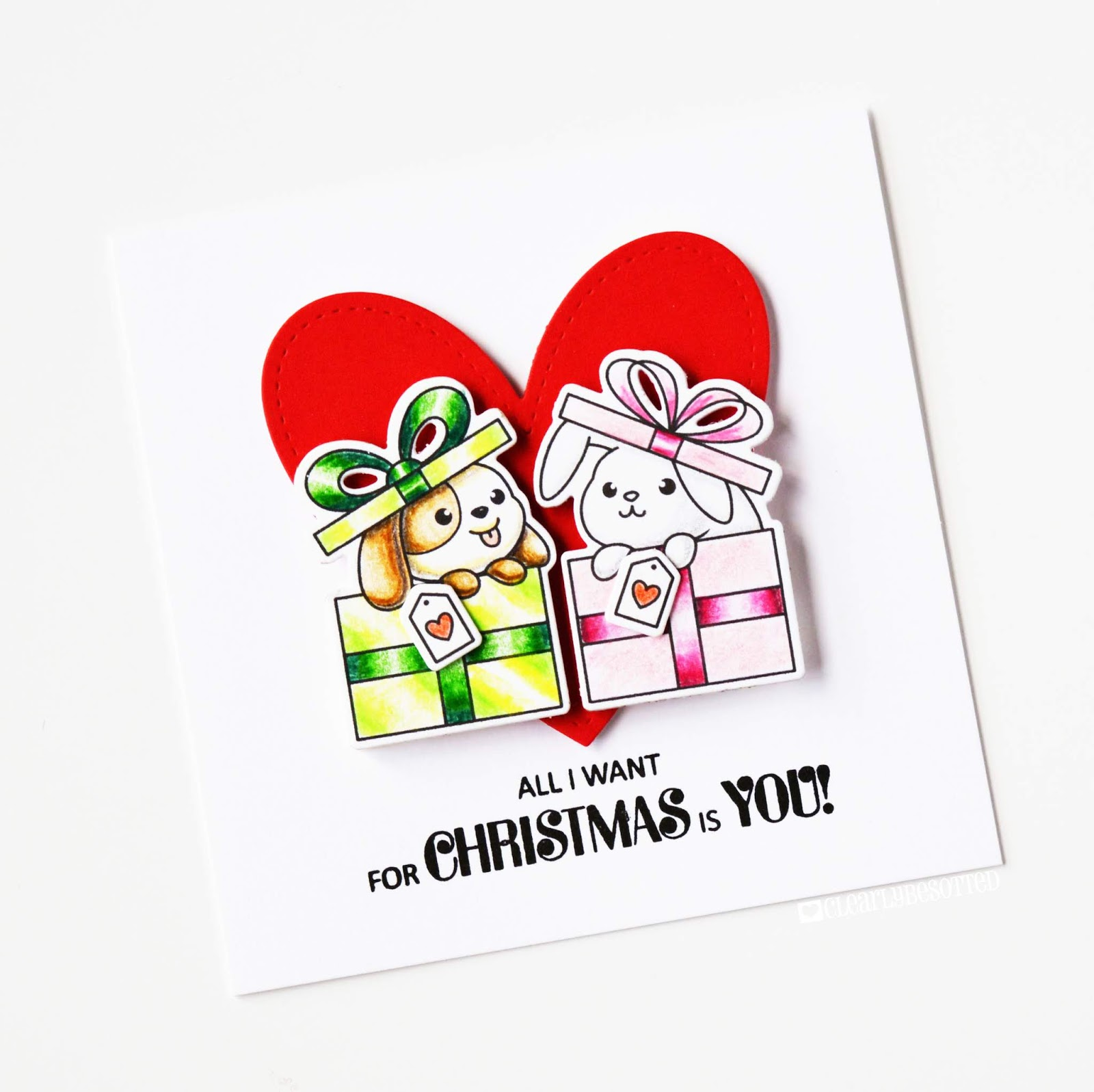 Stamping & Sharing: All I Want For Christmas Is You