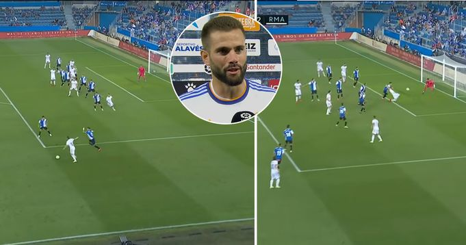 Pictures: The goal belongs more to Modric than to me: Nacho on Madrid Goal