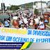 Jaguarari comemorou o dia nacional de luta da pessoa com deficiência com caminhada e apresentações