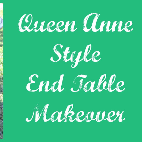 What do Queen Anne and Aztec Have in Common? - End Table Makeover