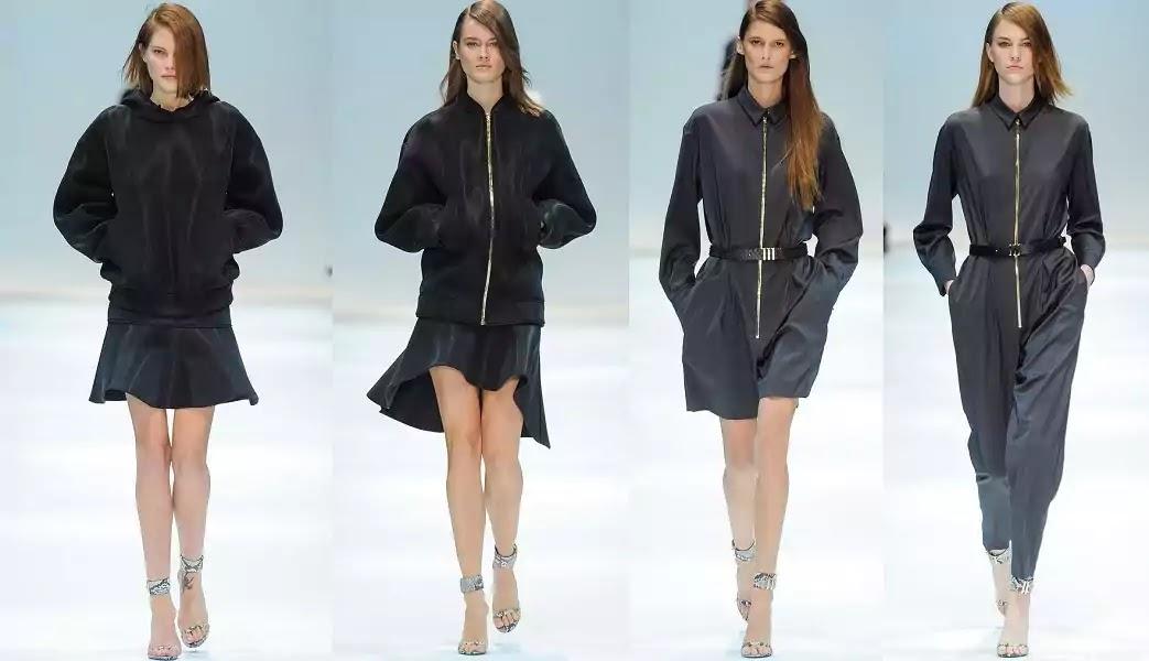 minimalist style woman