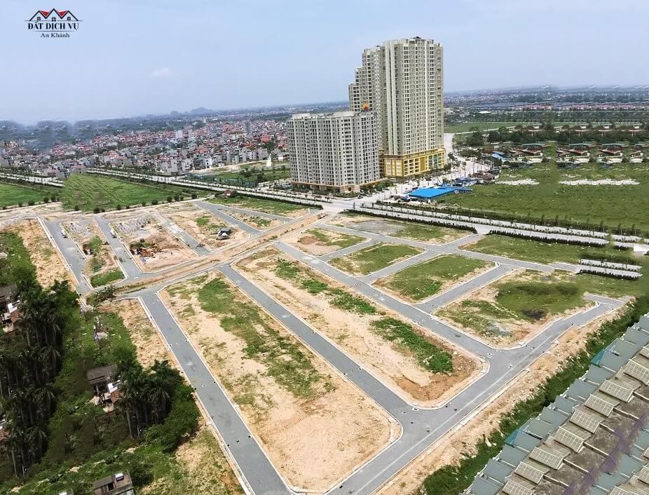 Tổng quan dự án đất dịch vụ An Khánh