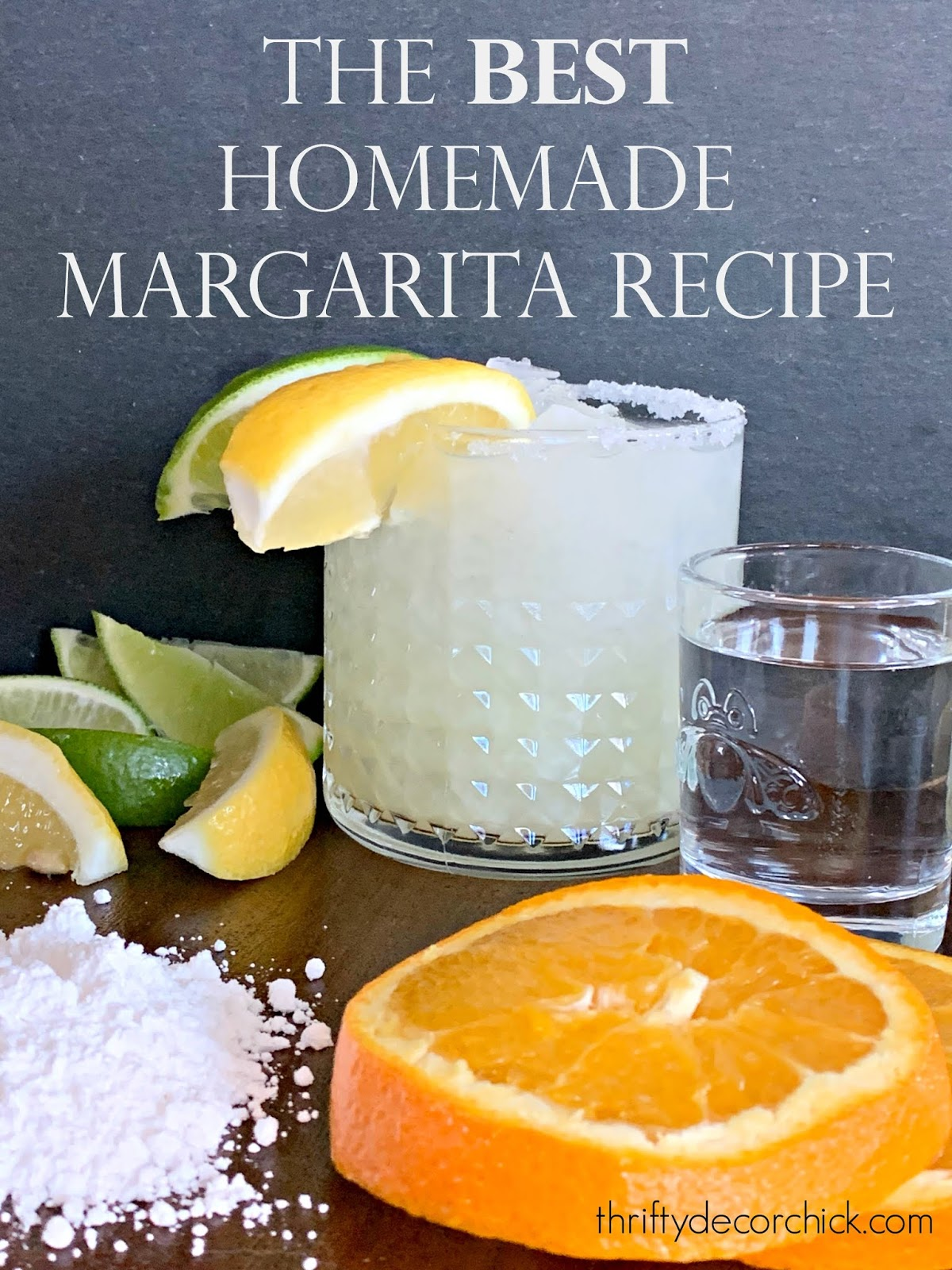 How to make the perfect margarita