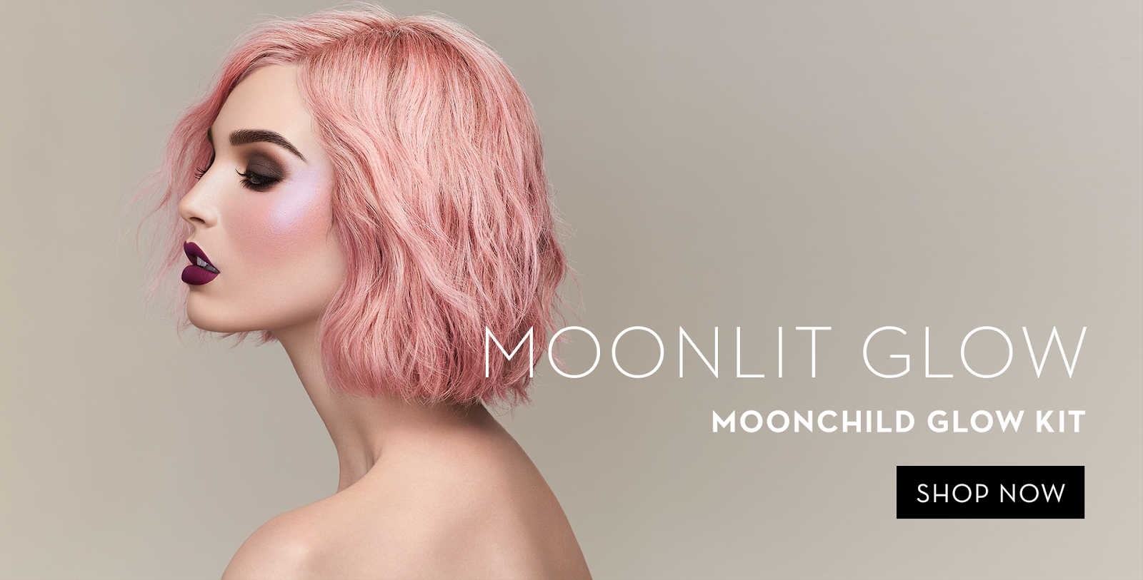 abh moonchild campaign, abh moonchild glow kit