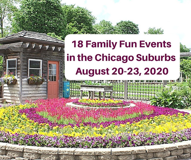 Weekend Windup: 18 Family Fun Events in the Chicago Suburbs August 20-23, 2020