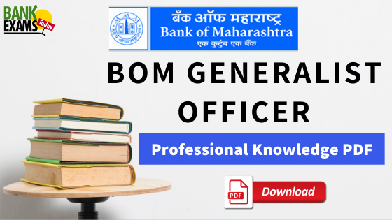 BOM Generalist Officer Professional Knowledge PDF