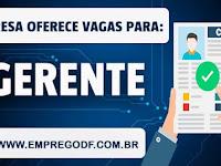 Emprego para Gerente (R$ 1.080,00)