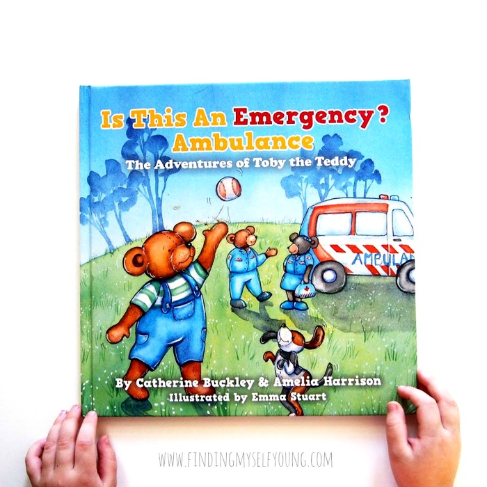 Toby the teddy book: Is this an emergency?