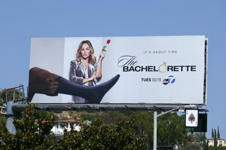 Bachelorette s16 Graduate homage billboard