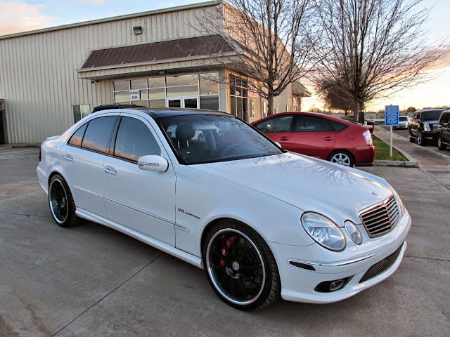 2008 mercedes e55 amg wheels