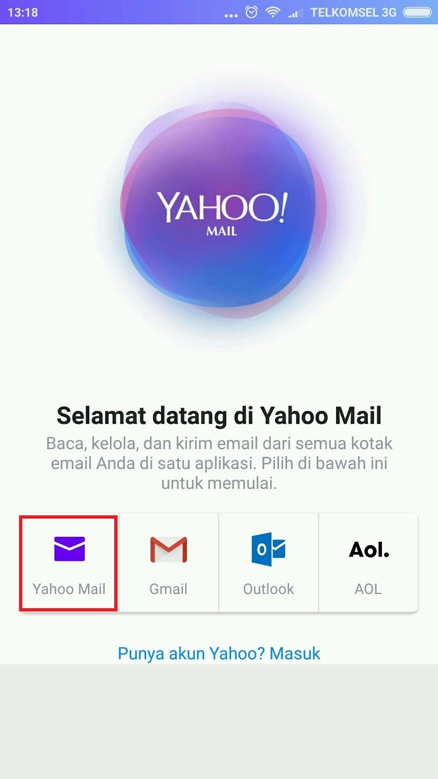 Cara Membuat Email Yahoo Baru Lewat HP Android   Langkah