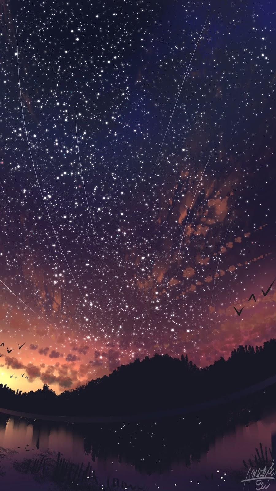 Những vì sao trên bầu trời đêm