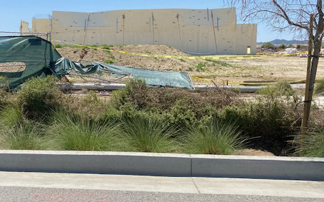 Hit And Run Crash Takes Out Perimeter Fence At Theater Site Menifee 24 7