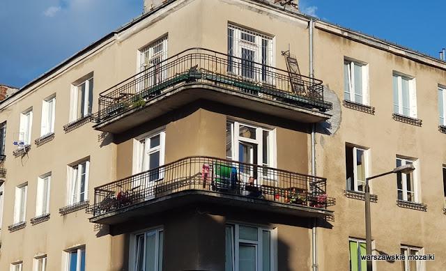 Szmulowizna kamienica Warszawa Warsaw praskie ulice praskie klimaty Praga Północ architektura kamienice balkon